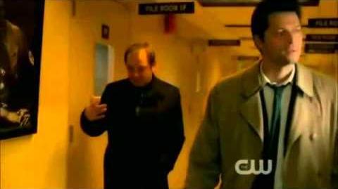 Castiel and Crowley Scene