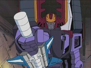 Galvatron bring out star saber