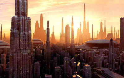 Coruscant Cityscape