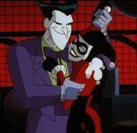 Joker and harley dancing