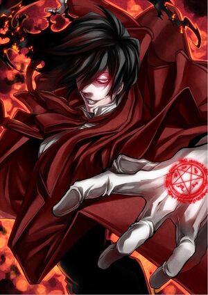 -font-b-Hellsing-b-font-font-b-Alucard-b-font-Vampire-Anime-poster-17-x