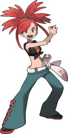 Omega Ruby and Alpha Sapphire Flannery