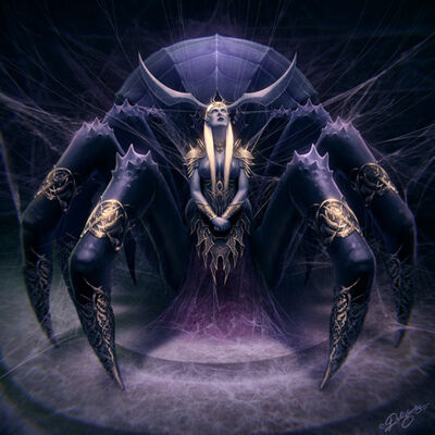 Lolth the Demon Queen of Spiders