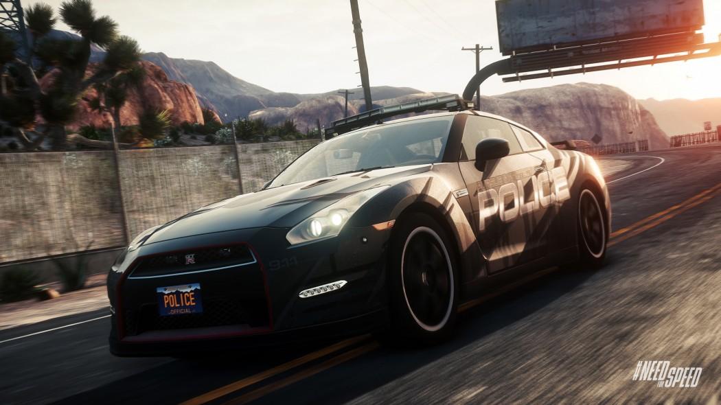 NFS Rivals Nissan GTR Black