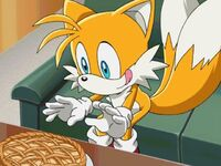 Tails with pie
