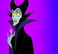 Maleficent shocked