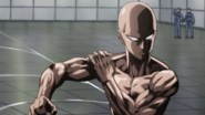 Saitama being serious