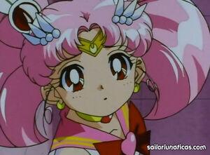 Sailor mini moon concerned