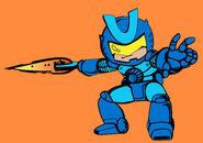 Combatron's final armor based on the comics