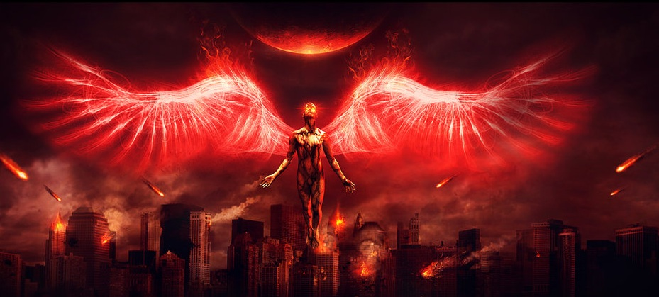 The Evil Angel Of The Fire By Charllieearts Dlqn Jpg