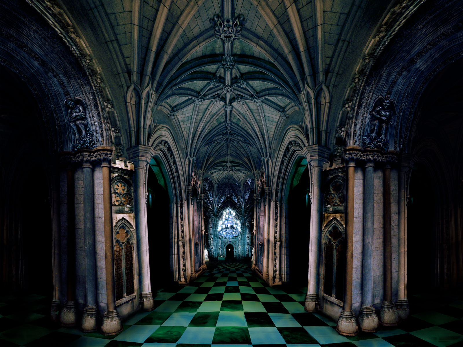 haunted castle 25jpg - Multi Castle Interior