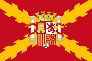 Republic of spain flag 1814 1820 by kike 92-d9dn1a6