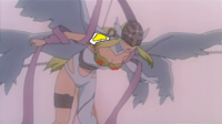 Angewomon looking on super