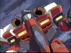 Starscream down