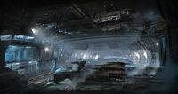 NF Asteroid-Hangar Speedpainting 02high