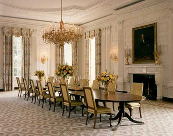 White House Floor1 State Dining Room