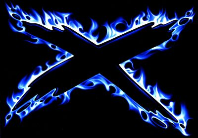 Blue fire x wallpaper-other