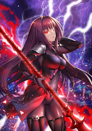 Scathach fate grand order and fate series drawn by suishougensou c6a94e7d5e5bba811f0b9cd450fcf461