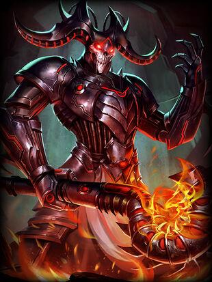 Hades Grim-Wraith Card
