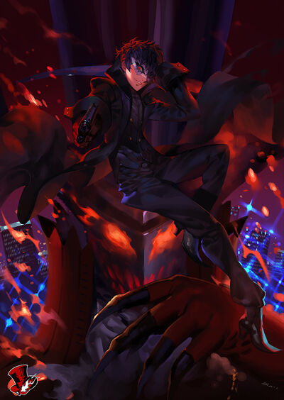 Arsene and kurusu akira persona and persona 5 drawn by alphonse white datura 99b8af63451b48c5287c5520c528cacc