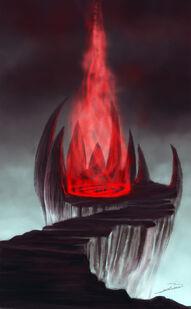 Demonic portal by bkiani-d572040