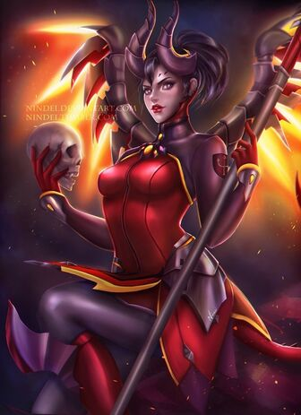 Devil mercy by nindei-dbitzyj