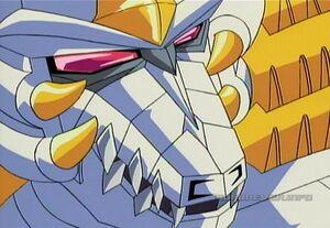 Galvatron dragon face