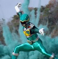 Green Dino Charge Ranger