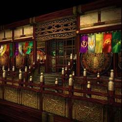 Hoko Temple0