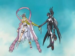 Angewomon let go now
