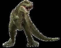Speckles the Tarbosaurus