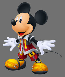 Mickey happy pose