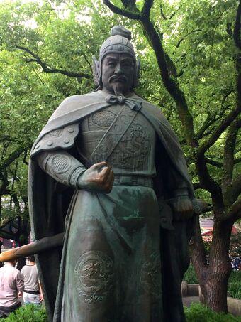 YF statue