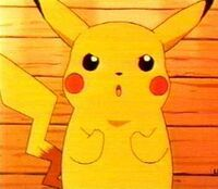 Pikachu determined