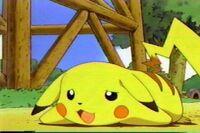 Pikachu down