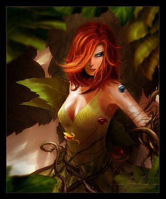 Poison ivy by liquid 86-d1xk2nj