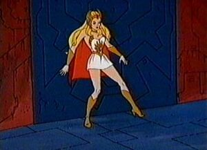 She-ra block door