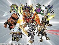 Attack of the Ten Legendary Warriors Gods