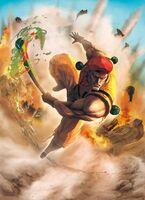 SFXT-Street-Fighter-X-Tekken-Official-Game-Art-Rolento-Character-Poster