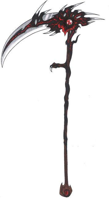 Kerri's scythe