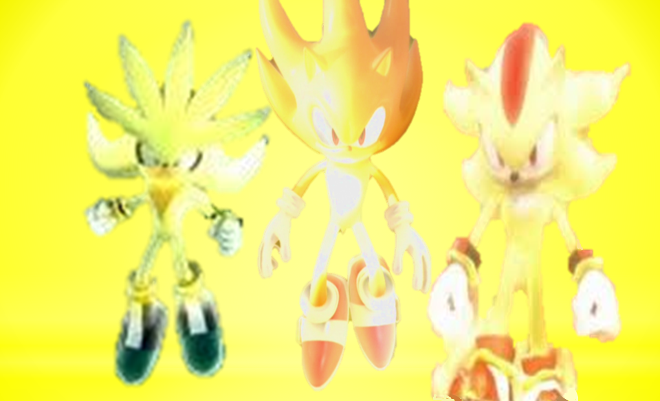 Super Sonic Shadow And Silver By 9029561 D578sx0