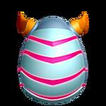 Краснополосая Ящерица яйцо
