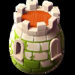 Замок яйцо