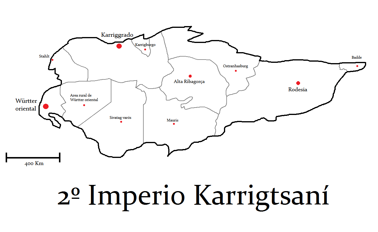 Mapa político 2ndo imperio karrigstani