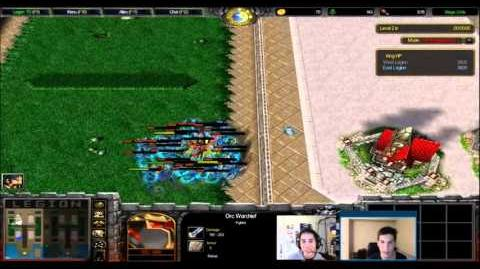 Playing classic Wc3 Legion TD to celebrate the Legion TD 2 Kickstarter