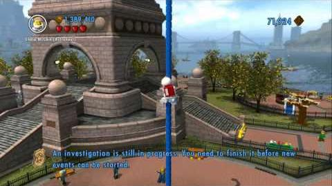 Lego City Undercover Red Bricks