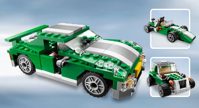 6743 Street Speeder Lego Creator Wiki Fandom Powered By Wikia
