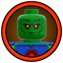 Martian Manhunter Character Icon