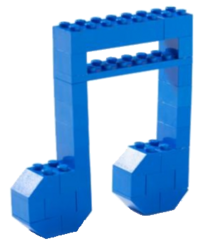 LEGO Music Note
