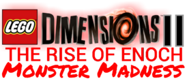 LEGO Dimensions 2 The Rise of Enoch Monster Madness logo